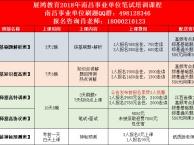 2018年展鸿南昌事业单位笔试面授课程