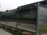 深圳烤漆面板围挡,工程烤漆面板围墙安装价格