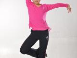 儿童舞蹈服装加绒加厚女童加厚练功服少儿拉丁服长袖长裤秋冬套装