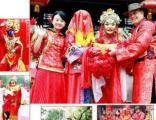 北京八抬大轿汉唐婚礼做纯中式婚礼坐大花轿体验古典美