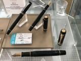 西安派克专卖 世 纪纯黑金夹墨水笔 商务办公礼品笔黑色送领导