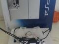 PS4游戏机港行白色九成新