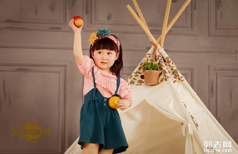 米兰贝贝儿童摄影 网络订单更划算