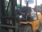 本人有3-10吨叉车出租可以装卸设备
