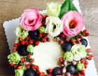 上海市内专人免费送货上门生日蛋糕鲜花预订订购