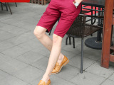 2015夏季新品男式休闲裤潮流时尚五分裤男中腰薄款青少年中裤批发