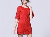 红色敬酒服短款小香风结婚小礼服大码蕾丝绣花夏季连衣裙代发2175