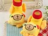 春季新款婴儿防滑地板袜立体童袜公仔宝宝纯棉袜子厂家直销