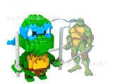 LOZ德国俐智钻石小颗粒积木模型玩具 淘宝爆款动漫忍者神龟达芬奇