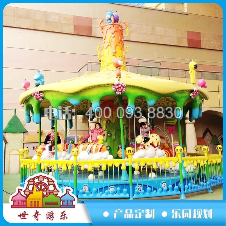 虫虫甜蜜村厂家直销室内主题乐园厂家定制儿童游乐设备新款销售