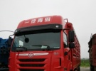 解放二手货车,前四后八低价出售按揭5万锦盛汽运公司2年10万公里22.8万