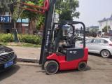直销二手堆高叉车 日本进口丰田全自动电动小型1吨1.5吨叉车