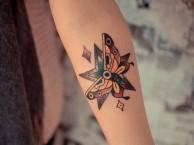 北京针谛刺青 纹身 洗纹身 大花臂