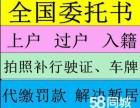 重庆茶园车管所业务代办
