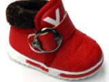 2014冬季新款童鞋 宝宝幼儿婴儿鞋 魔术贴加厚保暖宝宝鞋厂家批