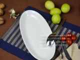 鱼盘 外贸 创意陶瓷盘子 骨瓷创意寿司盘