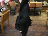 啦啦娃童装 2014新款可爱小恐龙卫衣拉链外套 连帽时尚装2-7
