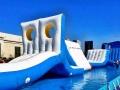 支架水上冲关移动式出租房产项目充气水上闯关租赁公司