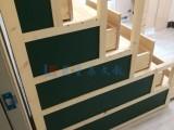 从化教学板供应X阳江挂式教学型绿板C多媒体投影推拉绿板