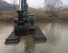 水上挖掘机出租水陆两用挖掘机租赁安阳市殷都区