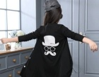 童装2016春秋装新款女童韩版中长款外套