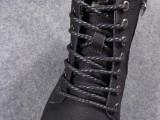 马丁靴男士短靴真皮高帮英伦皮靴男士皮鞋头层牛皮皮靴加绒侧拉锁