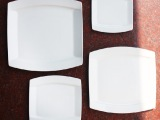陶瓷名品牛排盘 高档牛排盘西餐餐具全套 水果盘纯白骨瓷餐具套装