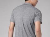 男装半袖韩式衣服 假两件套t恤男短袖20