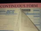 订做国际快递物流单印刷,面单印刷,条码背胶单印刷