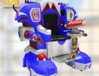 猎金广场游乐机器人亲子陪伴娱乐行走机器人射击互动游