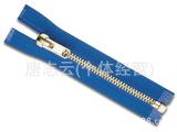 专业生产玖瑰金拉链 彩色拉链zipper 双面金属拉链批发