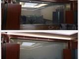 投影玻璃-欧毅液晶调光膜影院投影幕墙智能多媒体隔断