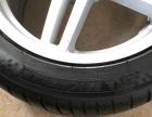 新款奥迪A6原厂18寸轮胎轮毂拆车一套