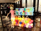 武汉宝宝生日宴气球布置 酒店家庭布置都可以哦!