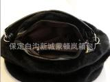 2013秋冬新款毛毛包 仿兔毛单肩女包