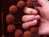 九华山善福印尼七瓣文玩小金刚菩提佛珠手串藏式少断齿爆肉男女款