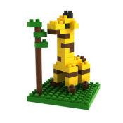 俐智 loz小颗粒迷你钻石积木拼装插儿童益智力玩具9279长颈鹿
