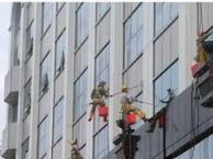 高空作业蜘蛛人 外墙清施工队 清洁公司 高空清洗