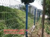 高级小区绿化带折弯护栏样式(图)墨绿色钢丝网围挡性价比高