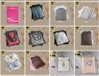 夏天服装包装袋透明塑料拉链袋女装衣服包装袋无纺布手提袋.
