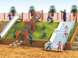 户外公园不锈钢滑梯 幼儿园滑梯 木质树屋滑梯 儿童乐园滑梯