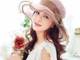 布塔防晒帽子 女士夏季防紫外线遮阳帽太阳帽可折叠真丝帽子0403