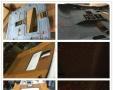 皇冠真皮缝线仪表台,中控台老化爆裂修复,表台包皮蒙