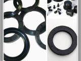 橡胶厂家  耐磨减震橡胶垫 橡胶缓冲器 减震圈 橡胶减震片