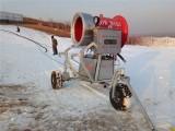 一台好人工造雪机顶三台的高效零度滑雪场造雪机价格