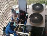 上海维修家用空调加氟保养清洗专业修理联系是多少?