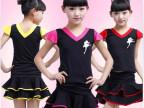 童装夏2014 儿童演出舞蹈服 女童夏装表演套装 厂家直销
