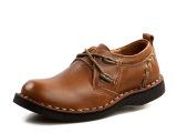 【厂家直营】2013新款手工商务休闲男鞋都市白领百搭低帮男鞋