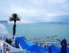 蓝梦沙·突尼斯8天 一半海水 一半沙漠