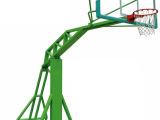 仿液压篮球架  篮球架系列  钢化玻璃篮球板  篮球框 原厂直销